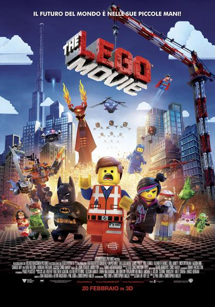 Locandina italiana The Lego Movie