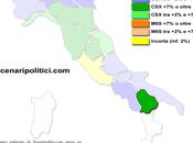 Sondaggio SCENARIPOLITICI gennaio 2014): BASILICATA, 39,0% (+10,2%), 28,8%, 23,0% primo partito 32%, Forza Italia 17,7% terzo.