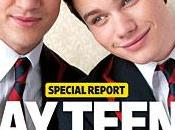 Chris Colfer Darren Criss GLEE Entertainment Weekly