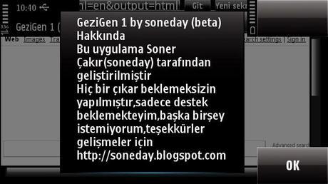GezinGen – Nuovo browser per symbian