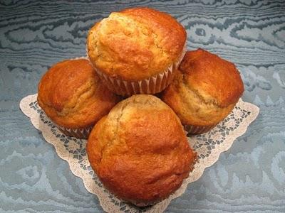Yogurt and honey muffin
