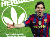 Pallone d'oro Lionel Messi, testinomial Herbalife