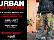 Urban live painting
