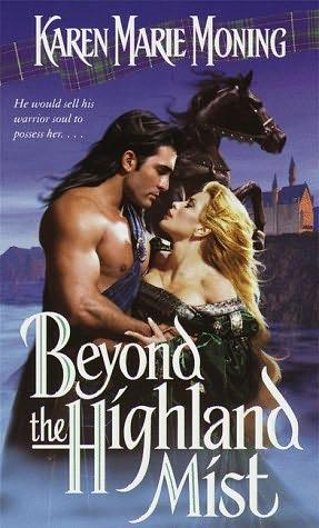 book cover of   Beyond the Highland Mist    (Highlander, book 1)  by  Karen Marie Moning