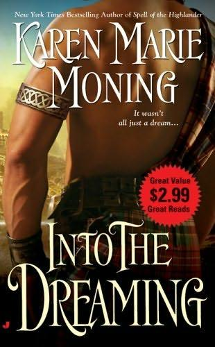 book cover of   Into the Dreaming   by  Karen Marie Moning