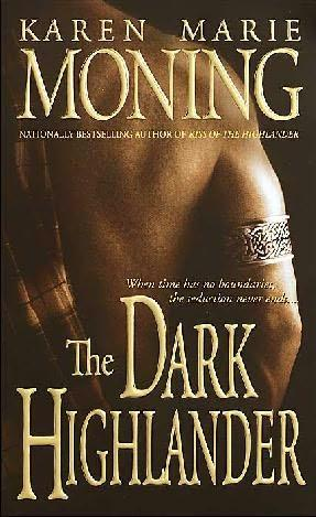 book cover of   The Dark Highlander    (Highlander, book 5)  by  Karen Marie Moning