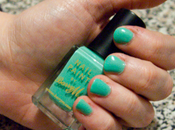 Nail Polish Swatch! Mint Green Barry Dupe Chanel Jade