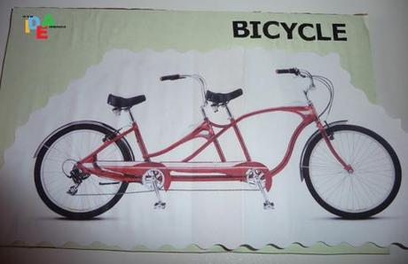 B COME… BICYCLE=BICICLETTA