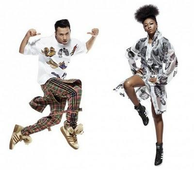 Adidas Originals by Originals Primavera Estate 2011 by Jeremy Scott