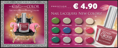 Smalti Color Plus e Wonder Gloss di Prestige