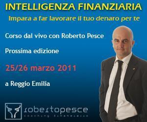 Corso Intelligenza Finanziaria: impara a far lavorare il tuo denaro per te!