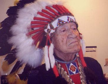 Chief White Eagle (1917-2011)