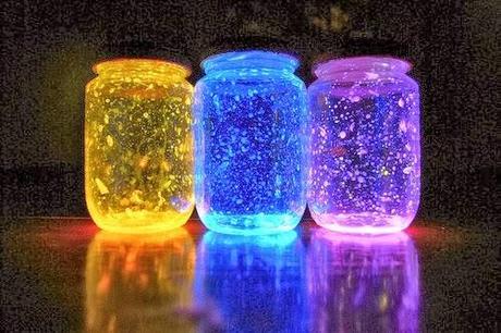 Lampada Con Barattolo Di Vetro : Lampade con barattoli di vetro vasetto luminoso lampada ricavata