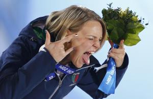 Arianna Fontanta, plurimedagliata nello short track di Sochi 2014 (zastavki.com)