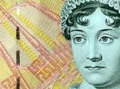 Jane Austen vale sterline Banca d'Inghilterra. 2017