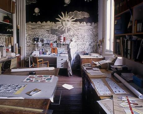 Piero fornasetti 100 anni di follia pratica in mostra alla triennale di milano paperblog - Fornasetti mobili ...