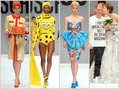 Milano Fashion Week: Scusate qualcuno ha ordinato un Big Mac da Moschino?