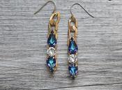 Earrings: crea tuoi orecchini catene Swarovski!