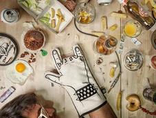 icone della musica cucina: love rock!