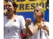 Venezuela, marcia Lillian Tintori delle donne anti-Maduro (foto)