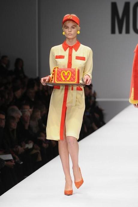 Moschino - Runway - Milan Fashion Week Womenswear Autumn/Winter 2014