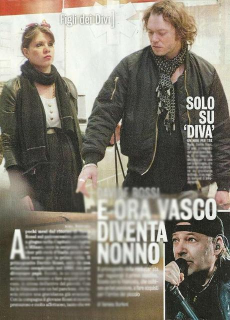 Vasco Rossi diventa nonno: il figlio Davide in attesa di un bebè