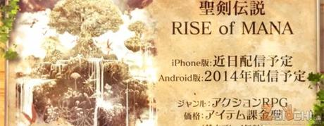Rise of Mana: disponibile il trailer e le prime immagini
