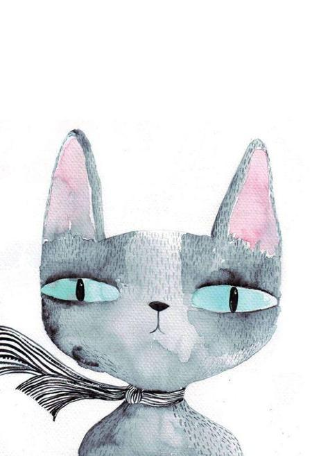 cat illustration 2