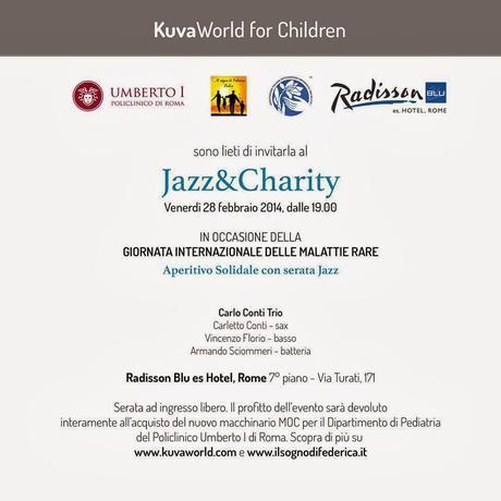 """Special Event """"Jazz&Charity"""" • Fare del bene fa bene!"""