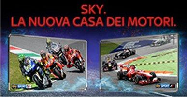 Sky Sport, la nuova casa dei motori   35 weekend live con Formula 1 e MotoGp #SkyMotori