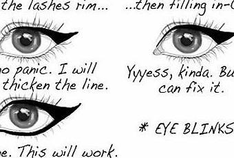 Eyeliner, come sopravvivere. - Paperblog