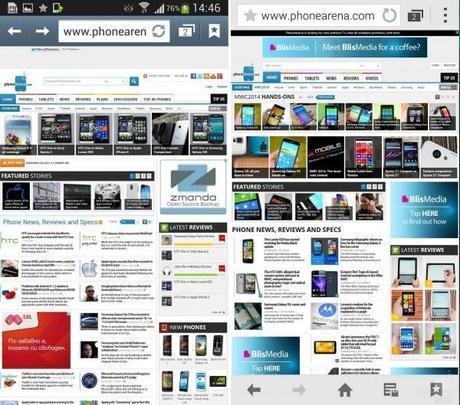 touchwiz oldvnew 09 600x529 Samsung Galaxy S5 vs Samsung Galaxy S4: confronto tra le interfacce  news  samsung galaxy s5 samsung galaxy s4 samsung