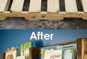 Libreria fai da te per la cameretta dei bambini paperblog - Decorazioni per camerette bambini fai da te ...