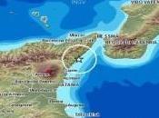 Sicilia: scossa terremoto registrata largo Messina