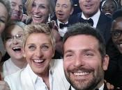 selfie degli Oscar tweet retweettato sempre