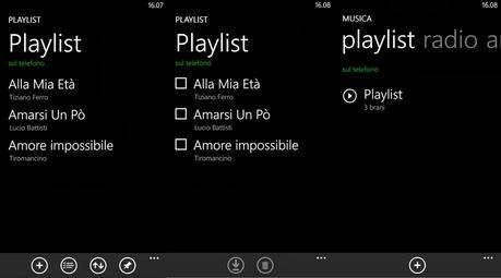 Playlist nei Windows Phone | Come ovviare alla mancanza di una playlist in un device Windows Phone!