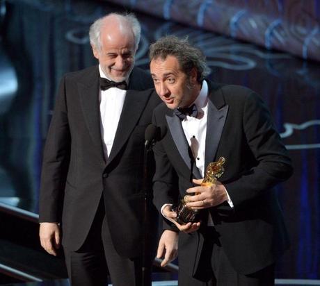 Stasera su Cielo in chiaro la Notte degli Oscar con la vittoria di Sorrentino