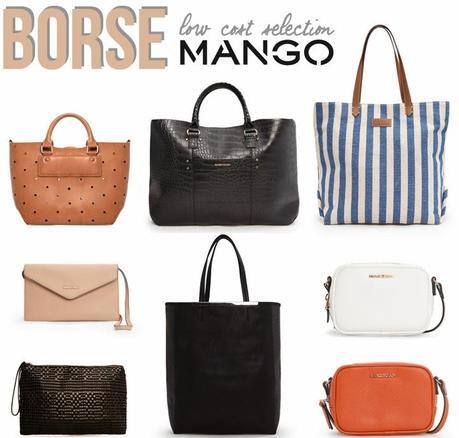 Shopping low cost: le borse di Mango