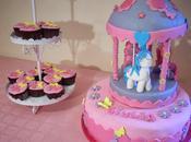 Torta giostra miny pony