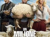 Seth MacFarlane, Liam Neeson, Charlize Theron tante pecore poster italiano Milione Modi Morire West