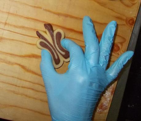 Uno Chef a domicilio: farfalle bicolore!
