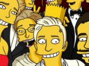 selfie Oscar Ellen parodia Simpsons