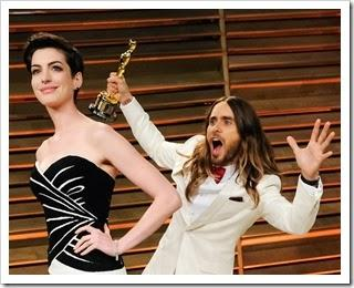 Anne Hathaway, Jared Leto