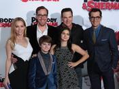 Burrell, Leslie Mann altri doppiatori Peabody Sherman nelle foto della premiere Angeles