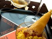 Cono gelato Parmigiano, miele pere