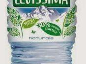 LaLitro ecosostenibile glamour, nuova bottiglia dell'Acqua Levissima