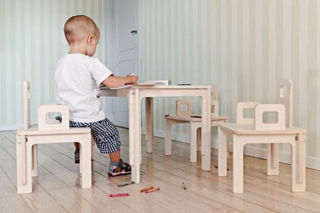 I Love Legno - tavoli e sedia