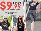 COCO MADE black T-shirt $9.99 hours