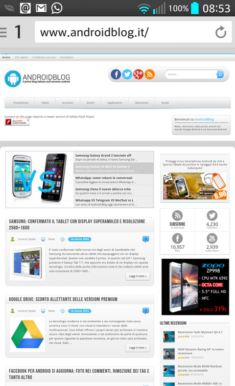 2014 03 14 08 53 03 600x987 Lightning Browser: una valida alternativa al browser stock applicazioni  Browser android