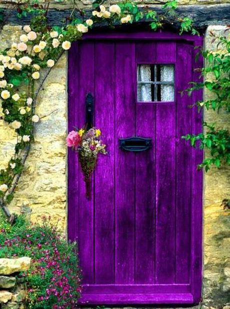violet-door-house